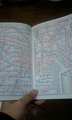 東京近郊路線図
