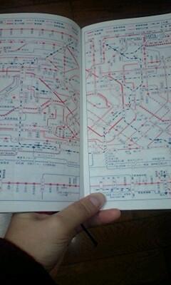 東京地下鉄路線図