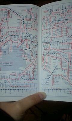 大阪近郊路線図