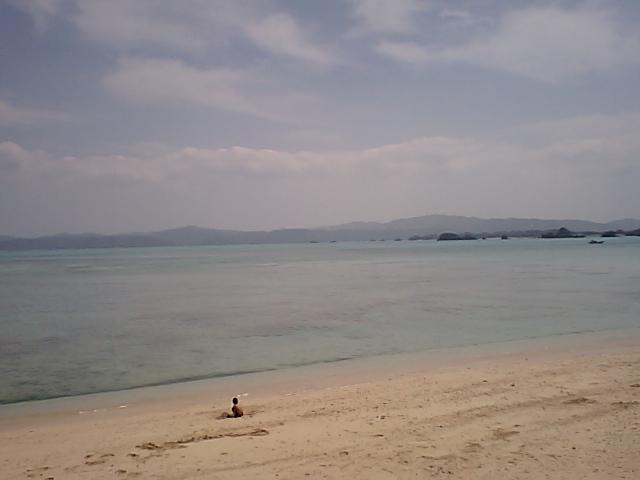 空と海と砂浜と・・・