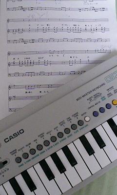 ミニカと楽譜